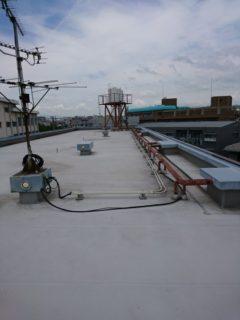 摂津市  屋上防水工事